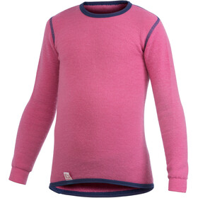 Woolpower 200 Crewneck Kinder sea star rose